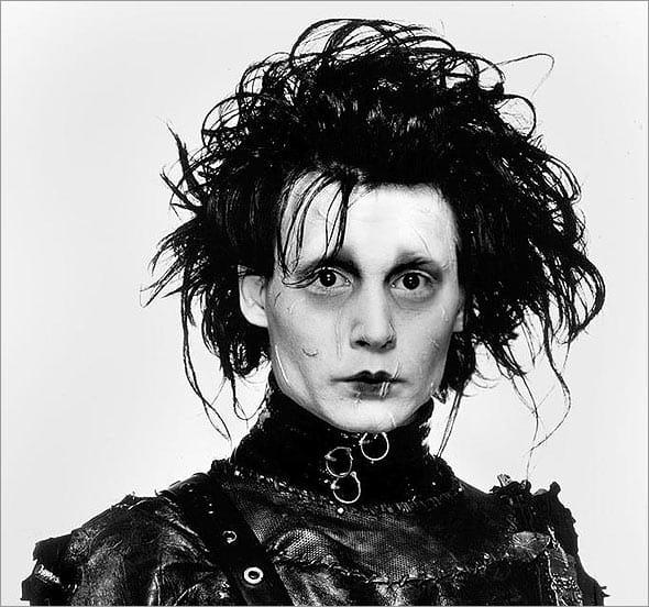 Edward Scissorhands Portrait he used