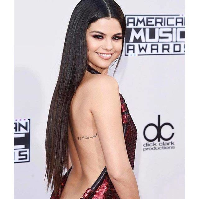 Selena Gomez Shows Off Her Minimalistic Tattoos