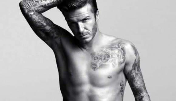 1. David Beckham - the hottest tattooed british hunk