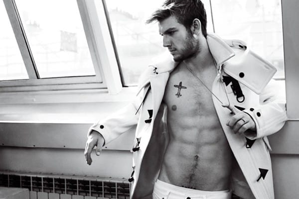 4. Alex Pettyfer - English actor and model