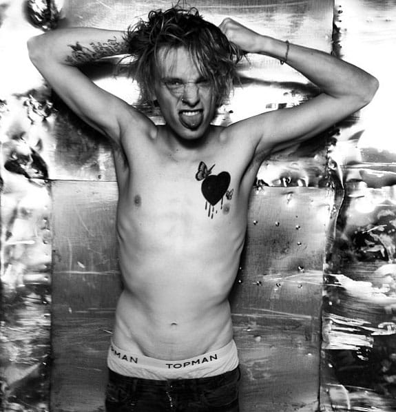 9. Jamie Campbell Bower - English actor, singer, and model