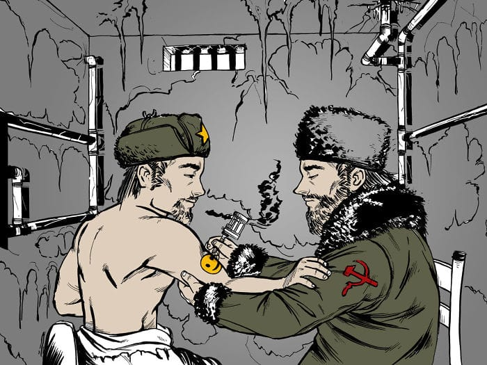 An Illustrated Guide To Russian Criminals Tattoos In The Soviet Era
