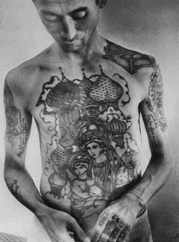Tattooed Russian