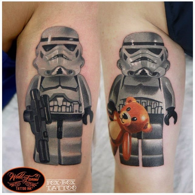 Cute stormtroopers by Denis Torikashvili...