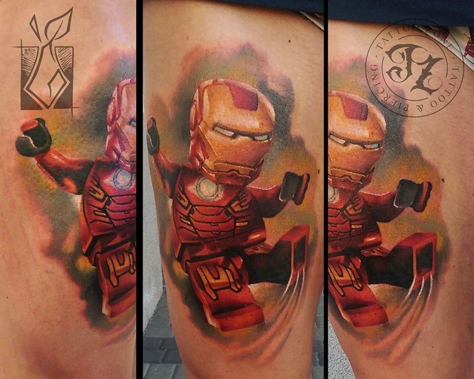 Iron Lego by Grucha.