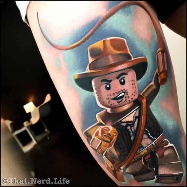 Indiana Jones by Levi Barnett.