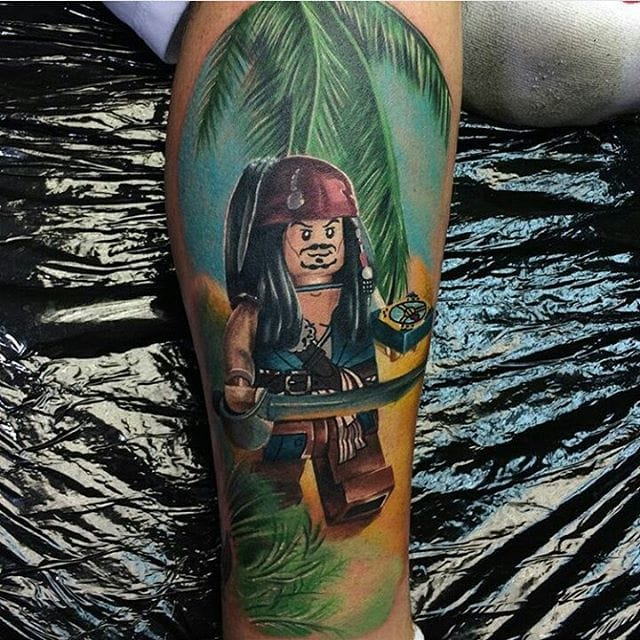 Jack Sparrow by Max Pniewski.