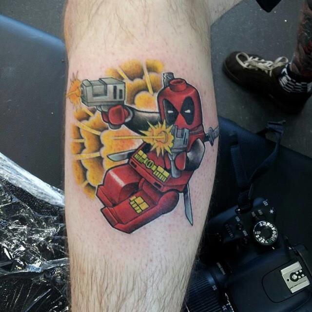Deadpool by Rich Knight.