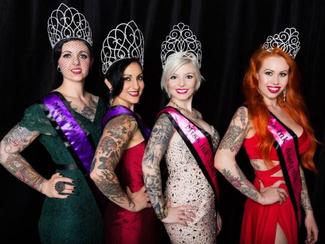 Meet Miss Ink Australia 2015!