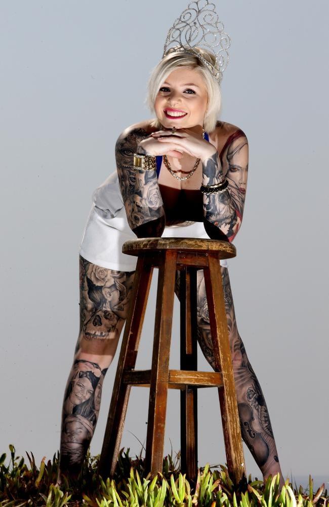Brittany Allsop, aka Miss Ink Australia 2015