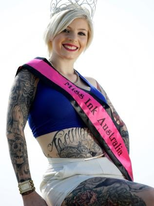 Miss Ink Asutralia 2015