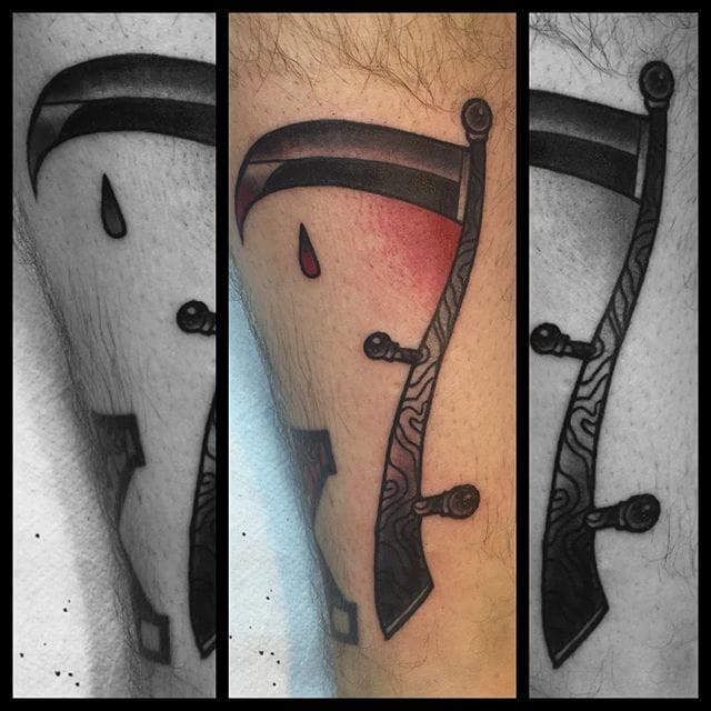 Scythe Tattoo by chrisxanker