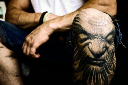 25 Badass Knee Tattoos