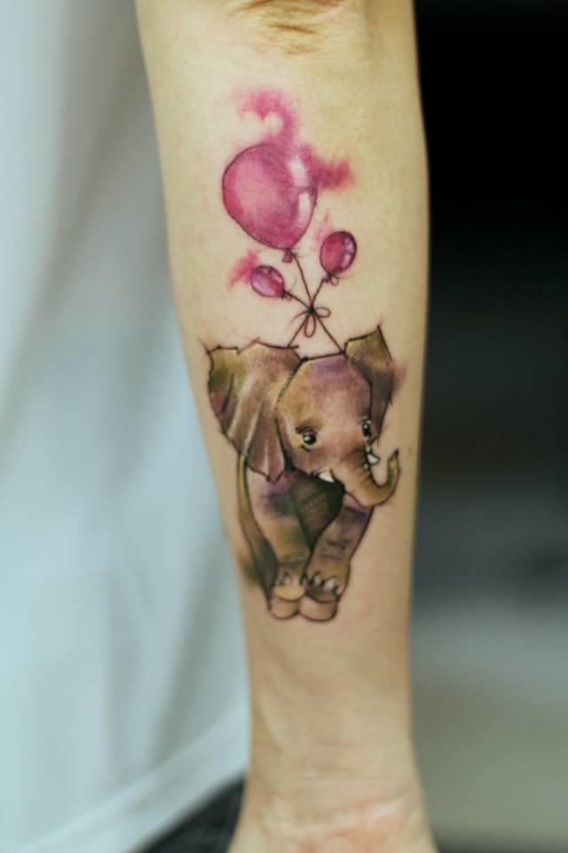 Francisco Ltattoo e 15 Lindas Tatuagens Aquareladas