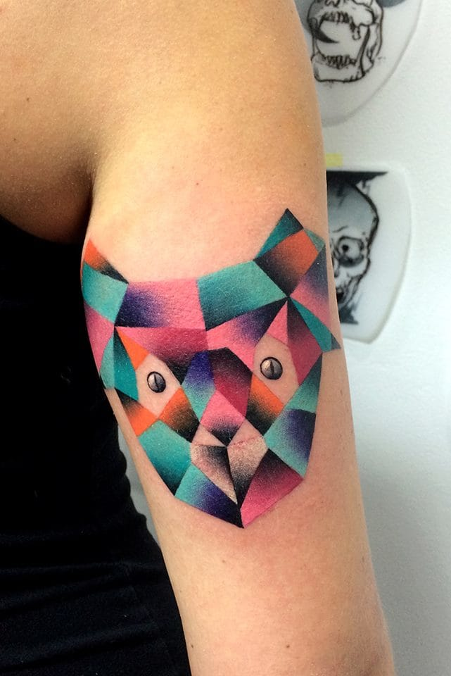 Flawless shading and colour in this koala tattoo. Photo credit: Mariusz Trubisz Facebook page.