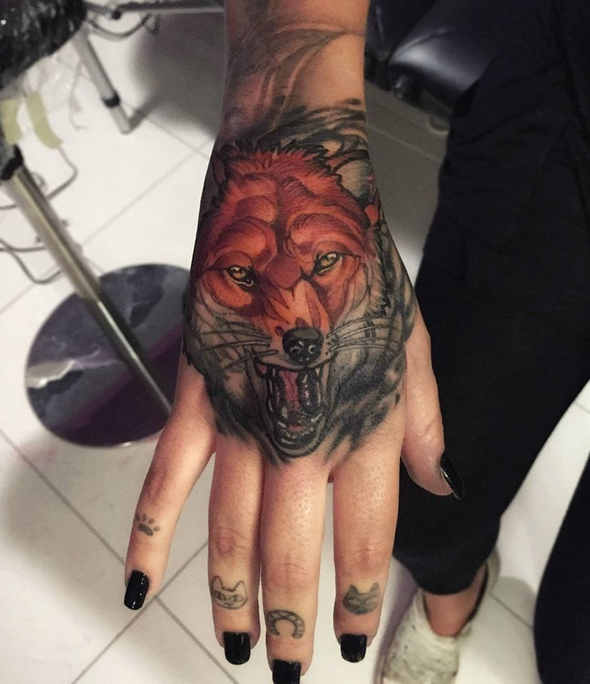 Fox Tattoo by Brando Chiesa