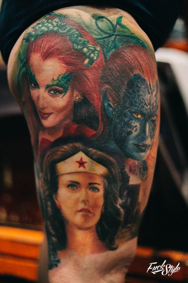 Gorgeous strong female superheroes in this realism piece. Photography courtesy of Mauricio Beltran Rodriguez