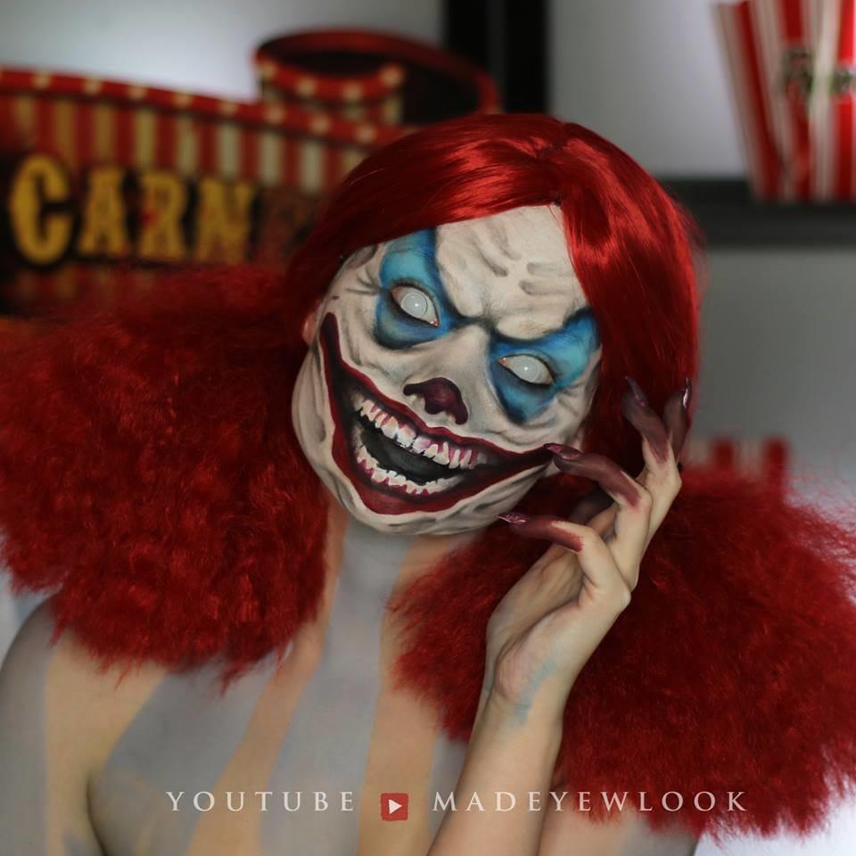 Crazy Halloween transformation