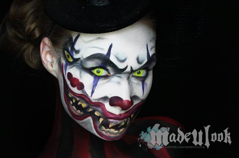 Happy Halloween!! Crazy transformation by Lex