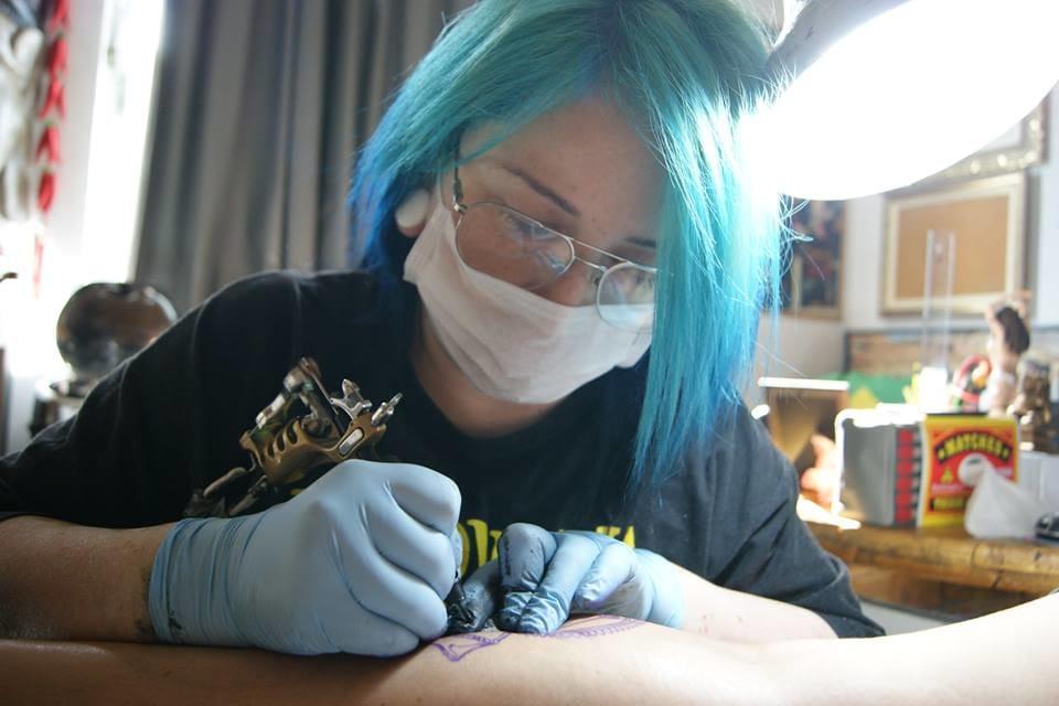 Ielny, ou Azul Lopes mesmo, fazendo o que mais ama!