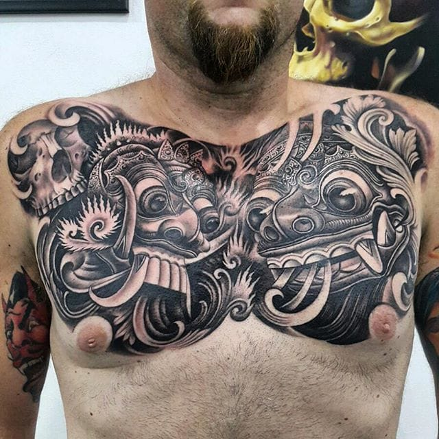 Tattoo artist Pa'udy Bali is making some impressive black and grey tattoos...