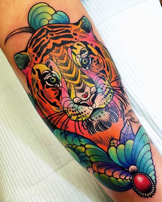 Elegant tiger.