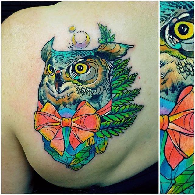 Dapper owl.