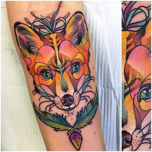 Gorgeous fox.