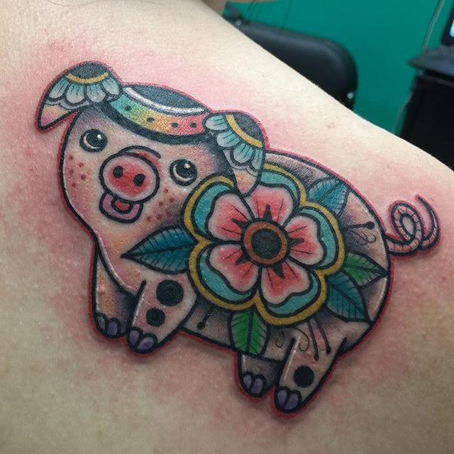 Adorable piece by Harley Fleming.