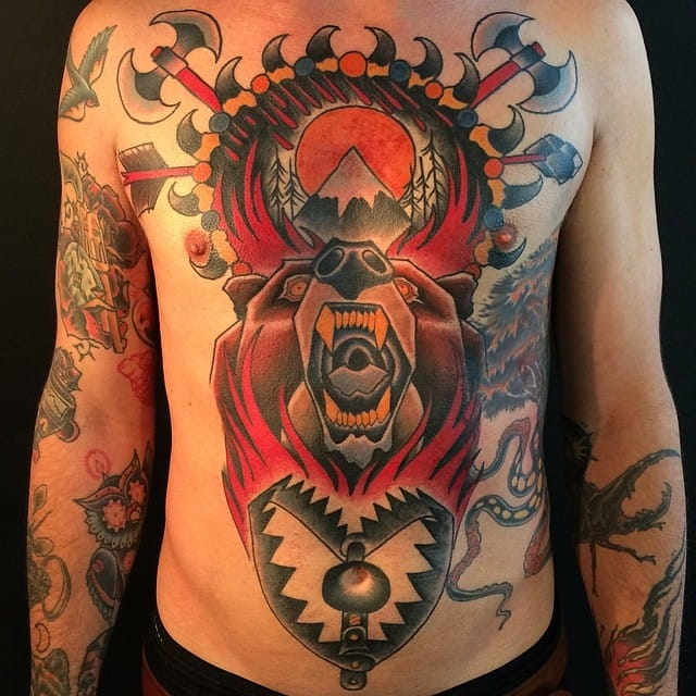 Epic Work by Mr Martin Tattoo