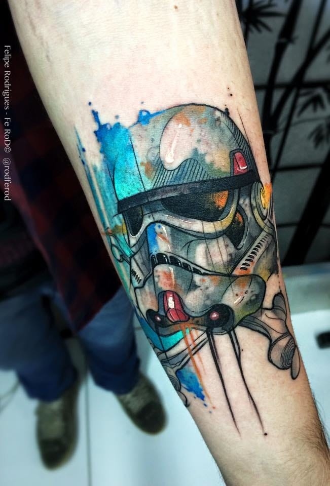 Maravilhoso Storm Trooper de Star Wars!