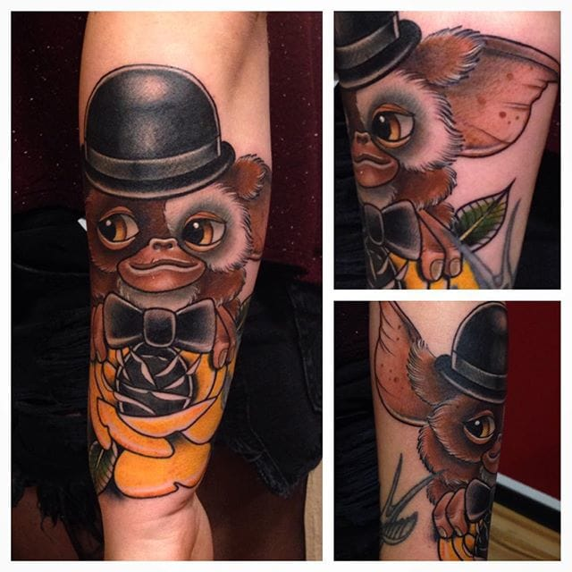 Charming Gizmo Tattoo by Cedric X Weber