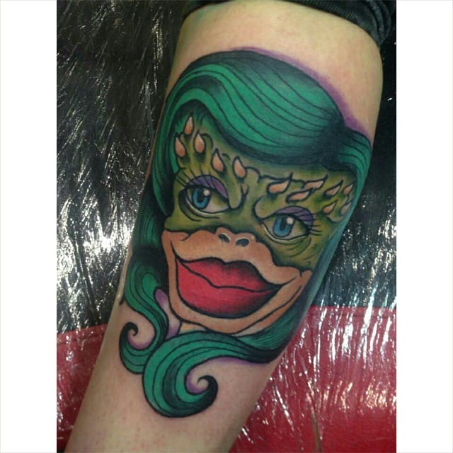 Greta Gremlin Tattoo by Mike Maddox