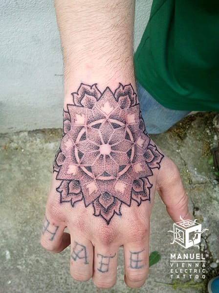 Dotwork Tattoo by Vienna Electric Tattoo