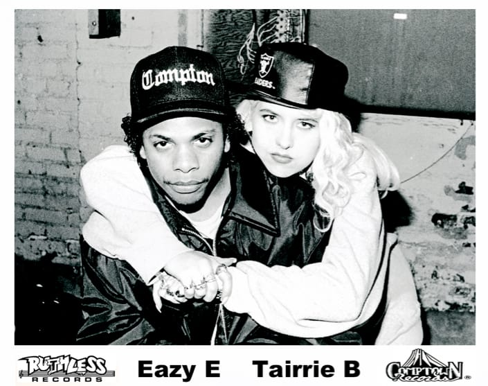 Tairrie B and Eazy-E back in the 90's