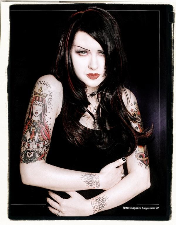 Tairrie changes the name Manhole to Tura Satana after the busty actress of Russel Meyer's exploitation movie Faster Pussycat Kill Kill