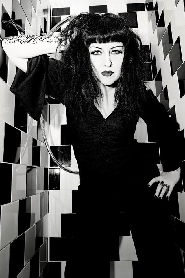 """""""With blood and sweat and honesty blowing kisses at my critics like a true OG"""" lyrics from Beware the Crone. Photo by Andy Watson"""