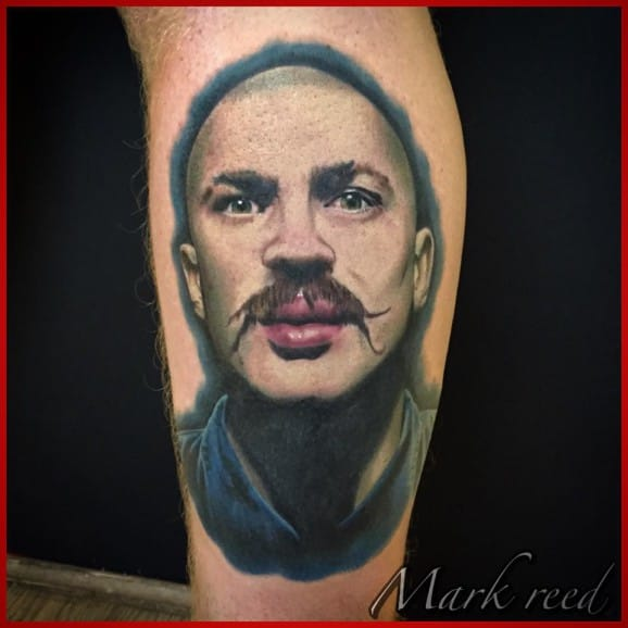 Bronson Tattoo by Mark Reed