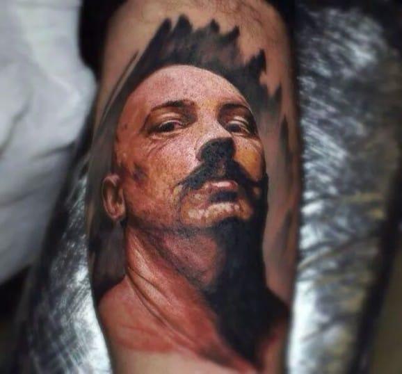 Bronson Tattoo by Ivan Bor