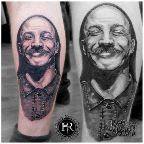 Bronson Tattoo by Juan Mellett