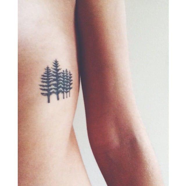 Little forest tattoo, Photo: @littletattooideas