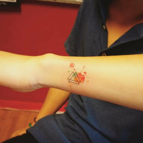 by Jasy Shin #triquetra
