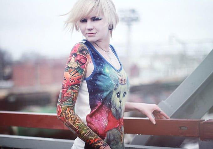 20 Tatuagens Nas Meninas Veneno Pelo Mundo