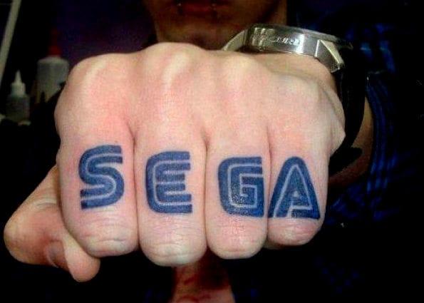 Retro Gamer Tattoos For Sega's 25Th Anniversary Comeback