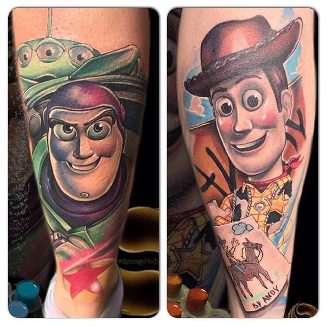 To Infinity And Beyond With These 15 Toy Story Tattoos!