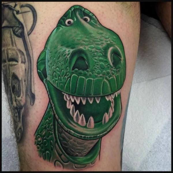 Bold Rex Tattoo by Pete the Thief