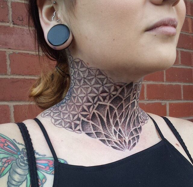 Dotwork Geometric Tattoo by Niall Shannon
