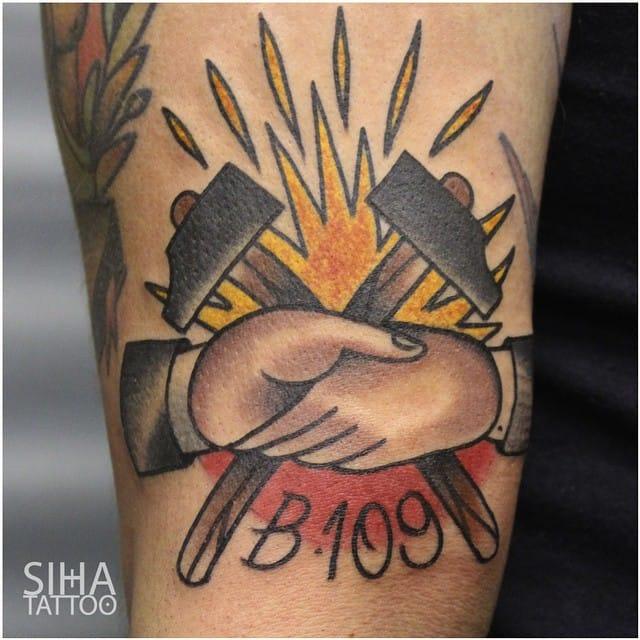 Working Class Tattoo by Siha Tattoo