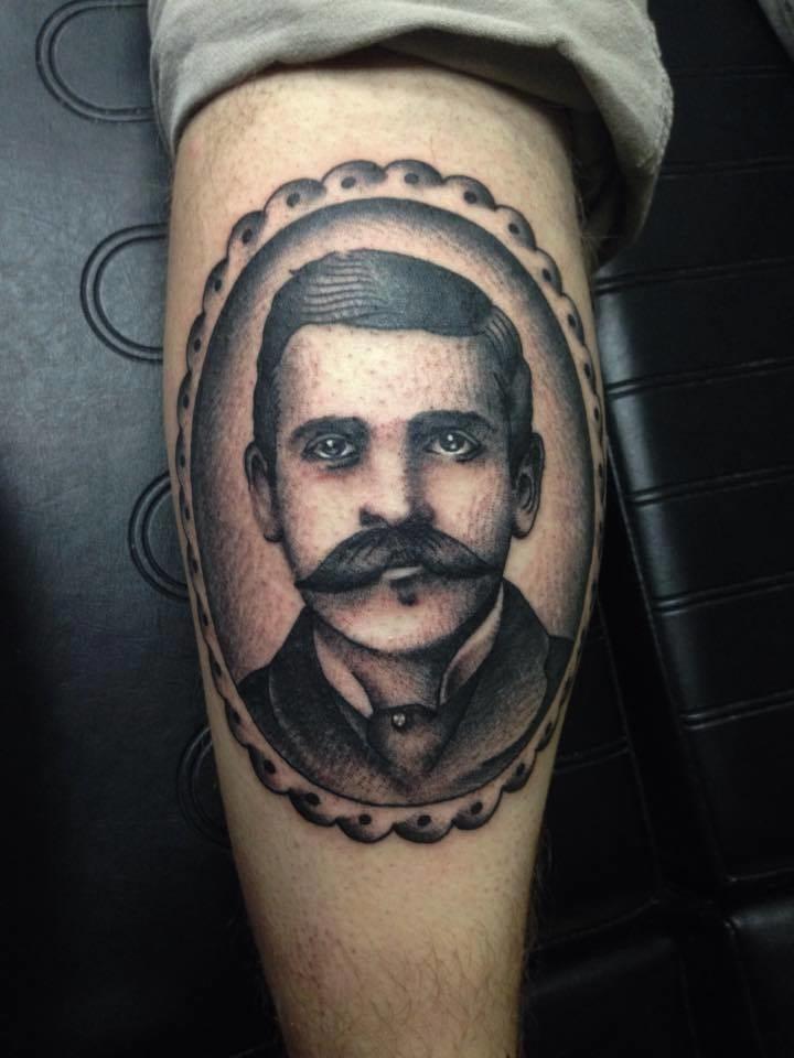 Doc Holliday Tattoo by Casey Maddox