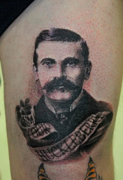 Doc Holliday Tattoo by Daniel Gray